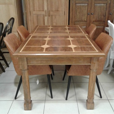 Flagstone dining table