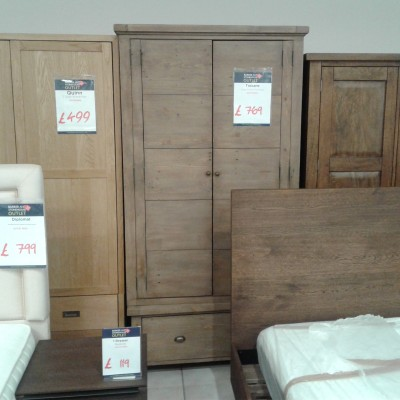 Toscan and Large double wardrobe