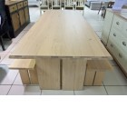 Malmo Dining Table & 2 x Bench