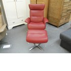 Arlo Recliner chair & footstool