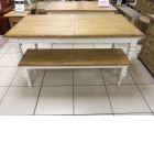 Chanfilly table and bench